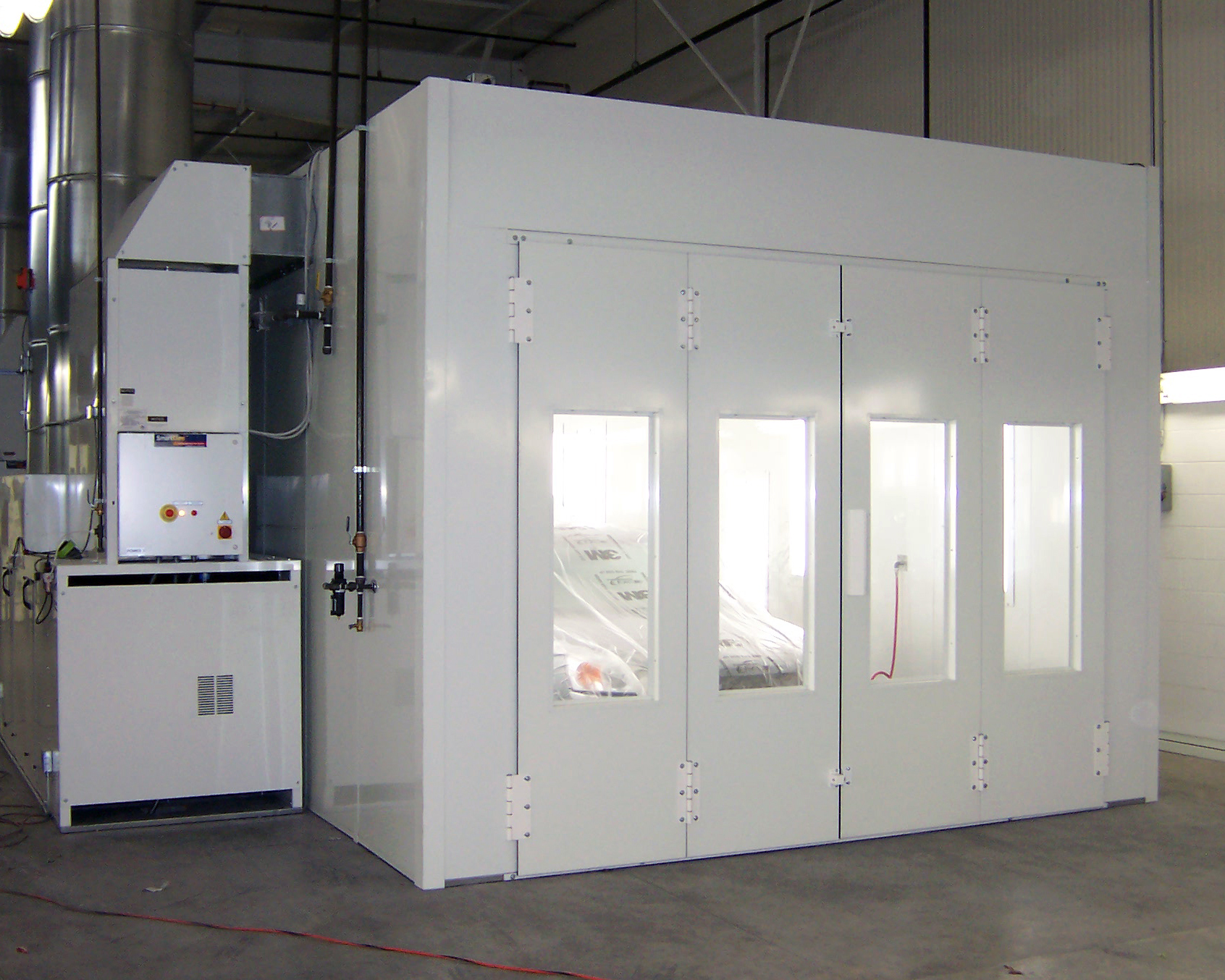 High Pressure Spray Booth : Portfolio and recent projects for southern finish systems